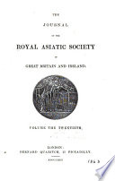 Journal of the Royal Asiatic Society of Great Britain   Ireland