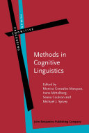 Methods in Cognitive Linguistics