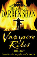 Vampire Rites Trilogy  The Saga of Darren Shan
