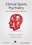 Clinical Sports Psychiatry Pdf/ePub eBook