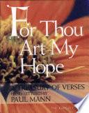 For Thou Art My Hope