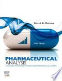 Pharmaceutical Analysis E Book Book PDF