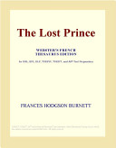 The Lost Prince (Webster's French Thesaurus Edition)
