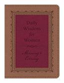 Daily Wisdom For Women Morning Evening Book