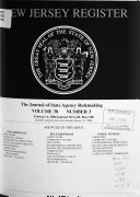 The New Jersey Register ebook