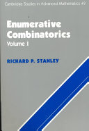 Enumerative Combinatorics  Volume 1