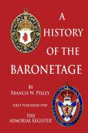 A History of The Baronetage