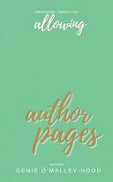 Allowing Feelings Journal