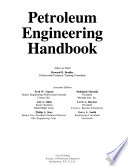 Petroleum engineering handbook