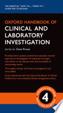 Oxford Handbook of Clinical and Laboratory Investigation Book