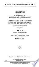 Railroad Antimonopoly Act
