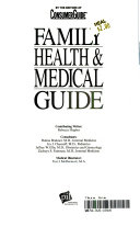 Family Health and Medical Guide