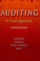 Auditing Final Approach