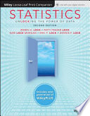 Statistics: Unlocking the Power of Data, 2e WileyPLUS (next generation) + Loose-leaf
