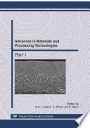Advances in Materials and Processing Technologies II Book