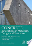 CONCRETE Innovations in Materials, Design and Structures