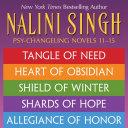 Nalini Singh: The Psy-Changeling Series Books 11-15 Pdf/ePub eBook