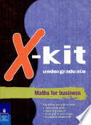 Xkit Undergraduate Maths for Business - Google Books