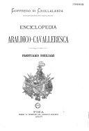 Enciclopedia Araldico-Cavalleresca