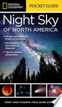 link to National Geographic pocket guide to the night sky of North America in the TCC library catalog
