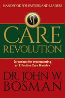 Care Revolution   Handbook for Pastors and Leaders