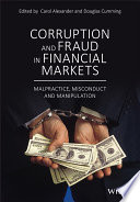 Corruption and Fraud in Financial Markets