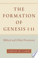 The Formation of Genesis 1 11