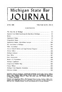 Michigan State Bar Journal