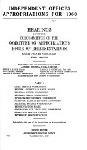 Independent Offices and Department of Housing and Urban Development Appropriations
