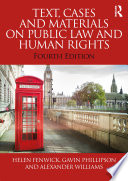 Text Cases And Materials On Public Law And Human Rights