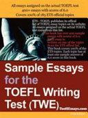 Sample Essays for the TOEFL Writing Test (TWE)
