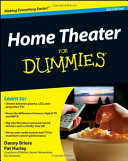 Home Theater For Dummies 2nd Edition