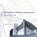 The Details of Modern Architecture ebook
