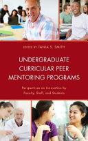 Undergraduate Curricular Peer Mentoring Programs