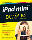 iPad mini For Dummies
