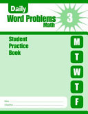 Daily Word Problems Grade 3 Student Book Book