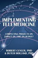Implementing Telemedicine Book PDF