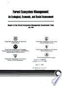 Forest Ecosystem Management Book PDF