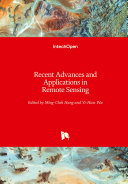 Recent Advances and Applications in Remote Sensing