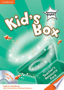 Kid's Box American English Level 4 Teacher's Resource Pack with Audio CD