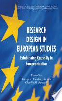 Research Design in European Studies