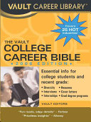 The Vault College Career Bible