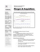 Telecom Merger & Acquisition Monthly Newsletter January 2010
