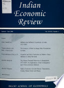 Indian Economic Review