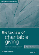 Pdf The Tax Law of Charitable Giving Telecharger