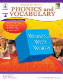 Month by Month Phonics and Vocabulary  Grade 4