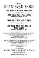 The Standard Code of the American Railway Association