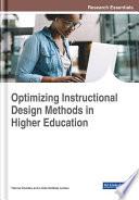 Optimizing Instructional Design Methods In Higher Education