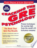 Cracking the GRE Psychology Test