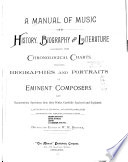 A Manual of Music Book